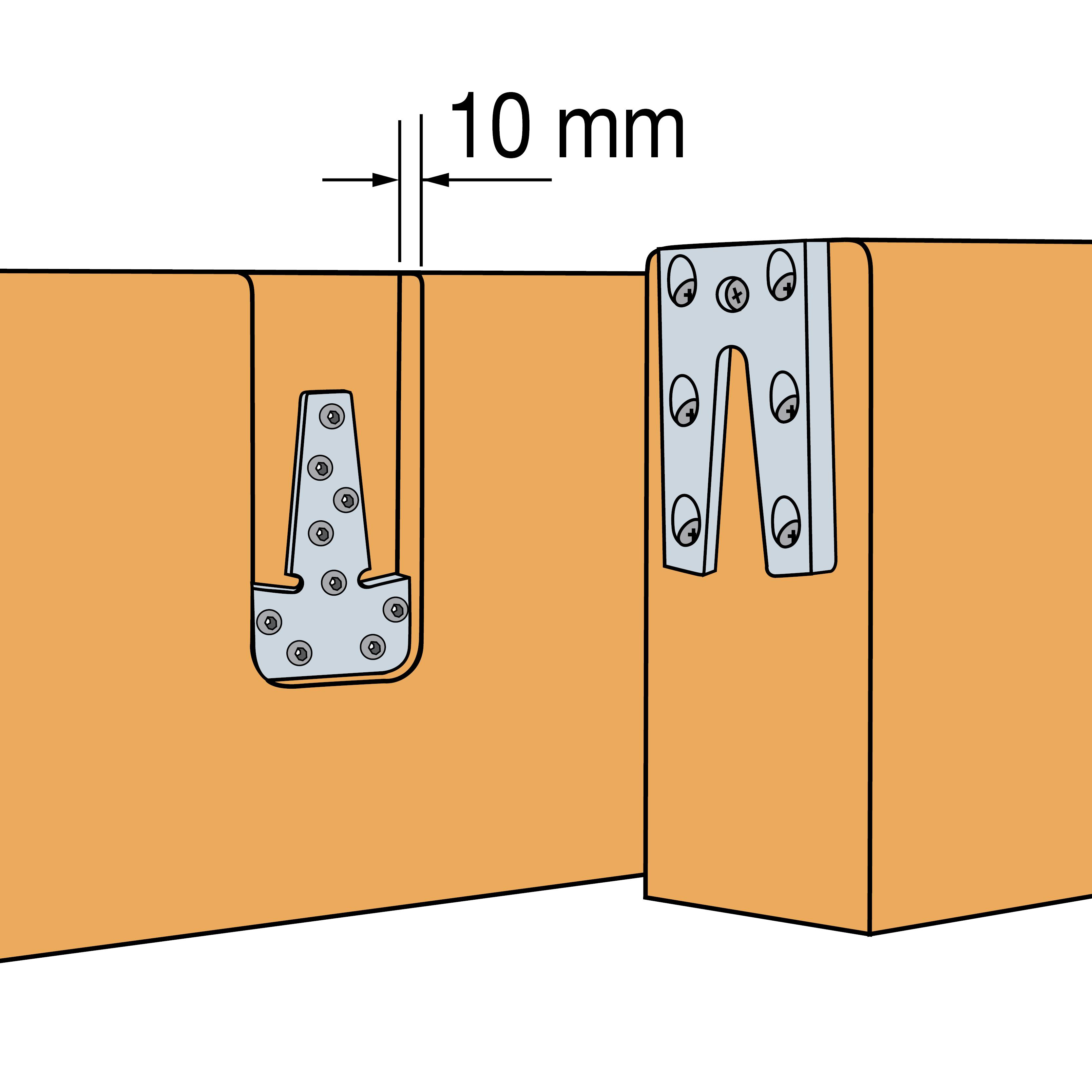Hirnholzverbinder   ETB   Simpson Strong Tie